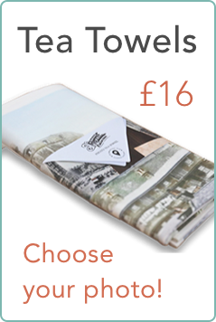 Photo Tea Towels - a personal, practical Christmas gift
