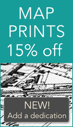 15% off Map Prints