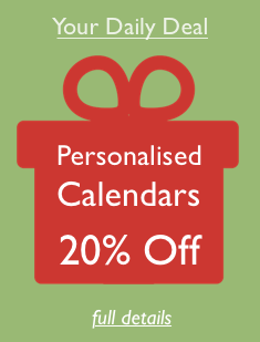Daily Deal - 20% off Calendars