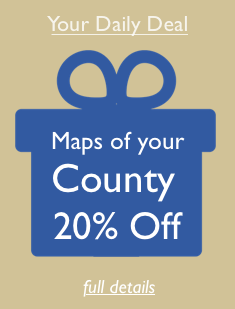 Daily Deal - 20% off County Maps