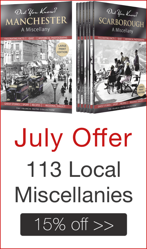 July Book Offer - 15% off Did you know? Local Miscellany Books