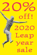 20% off prints for 2020 Leap Day!