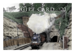 Choose a Steam train Gift Card